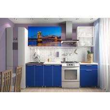 """Кухня """"Мост"""" фотофасад 1.8м"""