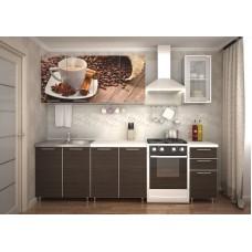 "Кухня ""Кофе"" фотофасад 2.0м"