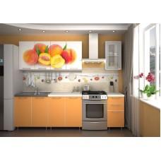 "Кухня ""Персик"" фотофасад 2.0м"