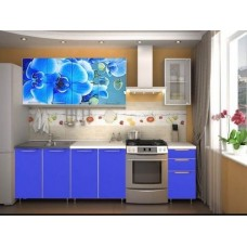 """Кухня """"Орхидея"""" фотофасад 2.0м"""